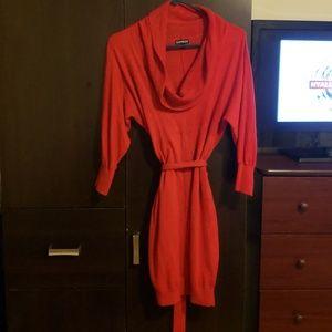 EUC Express Wool Blend Sweater Dress